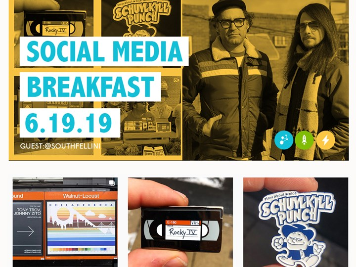 Social Media Breakfast - w/ Guest @southfellini
