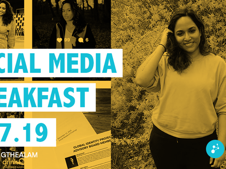Social Media Breakfast w/ Melissa Alam