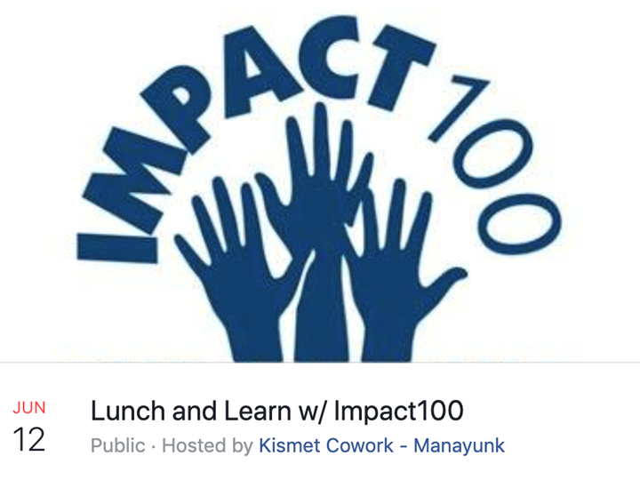 Lunch and Learn w/ Impact100