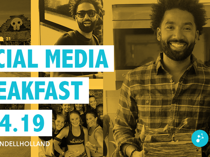 Social Media Breakfast with Wendall Holland